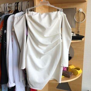 Fashion nova white dress